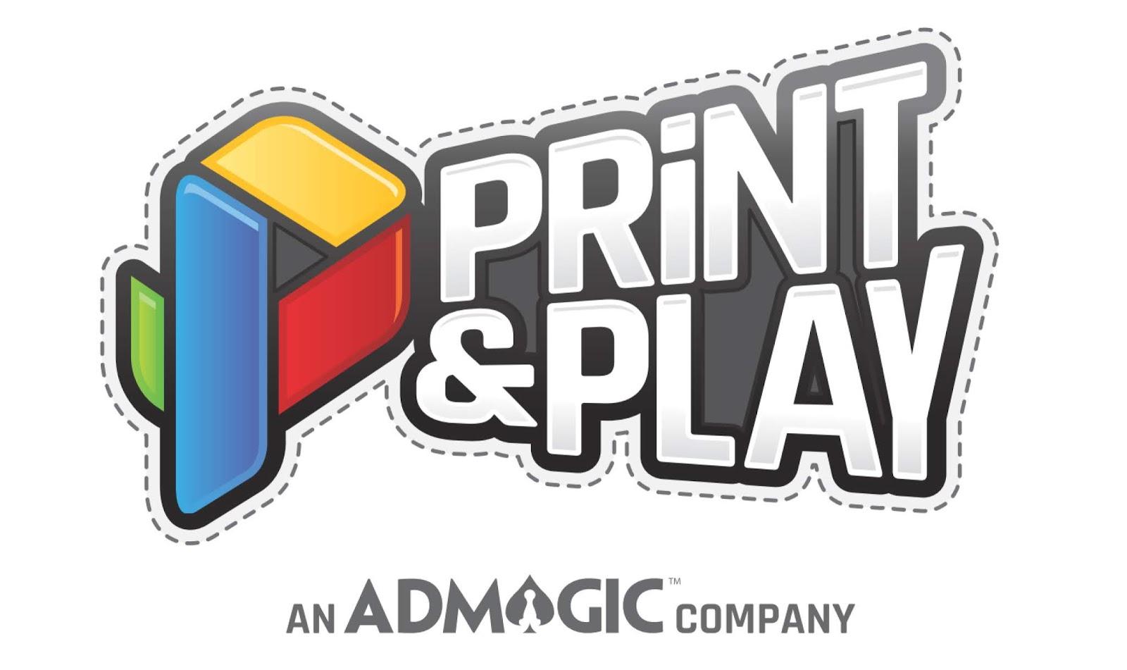 Print & Play Games